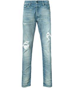 John Elliott   Distressed Denim Jeans Size 33
