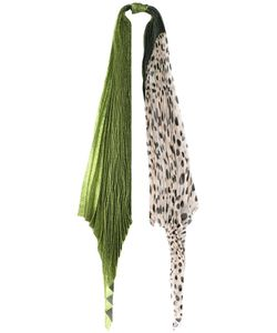 Haider Ackermann | Lurex Pois Pleated Scarf