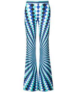 Mary Katrantzou | Checkerboard Flared Trousers