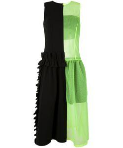 Paskal   Sheer Neon Detail Dress