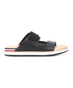 Moncler | Striped Trim Sandals Size 43