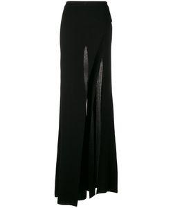 Balmain | Wide Leg Slit Trousers