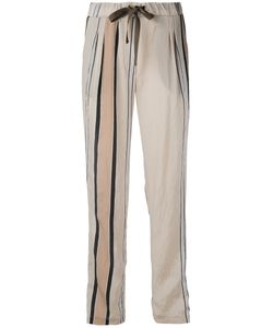 Roberto Collina | Striped Details Straight Trousers