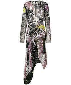 Preen by Thornton Bregazzi | Sequin Embroidered Asymmetrical Dress