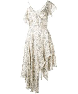 Zimmermann | Paisley Asymmetric Dress 0