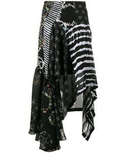 Preen by Thornton Bregazzi | Multi-Print Asymmetric Skirt