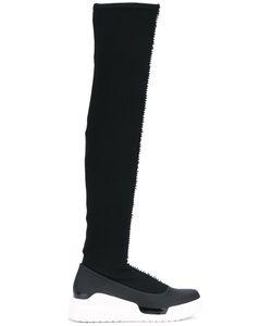 Donna Karan | Knit Sneaker Boots