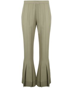 Marco de Vincenzo   Flared Cropped Trousers Size