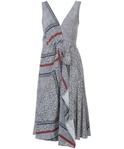 Derek Lam 10 Crosby | Embroidered Flared Dress