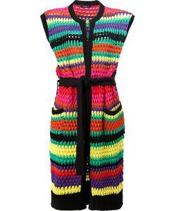 Balmain | Striped Cardigan 38 Polyamide/Viscose