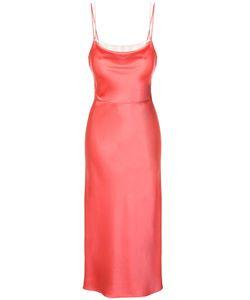 Jason Wu | Crepe Back Satin Trompe Loeil Cami Slip Dress