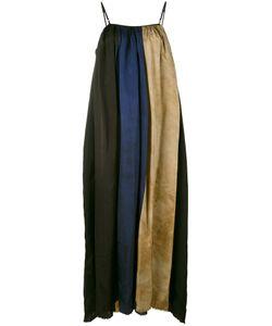 Uma Wang | Block Stripes Maxi Dress