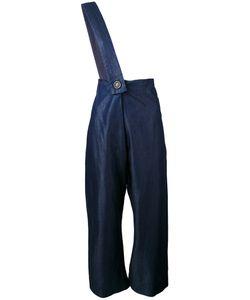 Vivienne Westwood Red Label   Cropped Shoulder-Strap Trousers