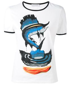 J.W.Anderson   Fish Print T-Shirt Size Medium