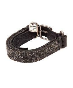 Goti | Embellished Layered Leather Bracelet