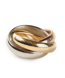 Janis Savitt | Triple Cobra Bracelet