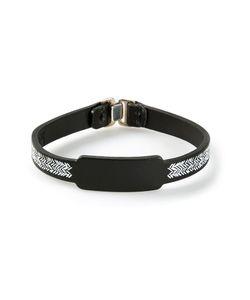 Jvdf | Hand-Painted Herringbone Bracelet