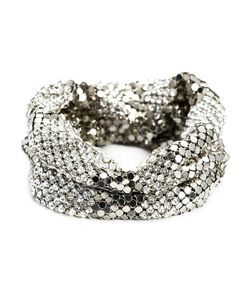 Michael Schmidt | Crystal And Mesh Bracelet