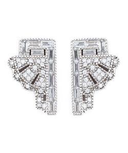 V Jewellery | Deco Fan Earrings
