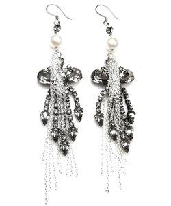 Tom Binns | Chandelier Chain Earrings