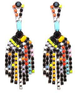 Tom Binns | Colourful Chandelier Earrings