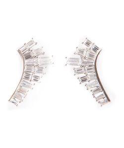 V Jewellery | Deco Baguette Lobe Earrings