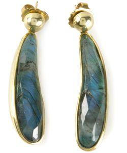 Vaubel | Fat Tear Stone Earrings