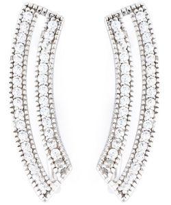 V Jewellery | Contour Loop Earrings