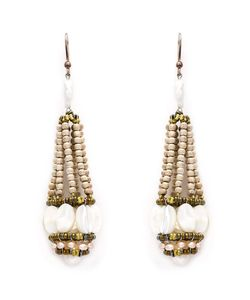 Ziio | Beaded Drop Earrings
