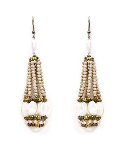 Ziio | Beaded Drop Earrings