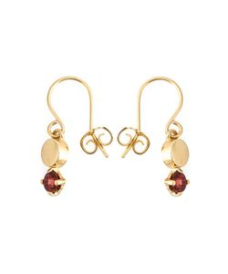 Wouters & Hendrix | Playfully Precious Garnet Earrings