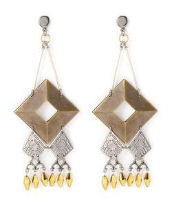 Emannuelle Junqueira | Geometric Appliqué Earring