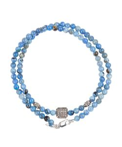 Catherine Michiels | Crystal Square Beaded Necklace