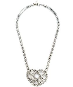Michael Schmidt | Swarovski Crystal Knot Necklace