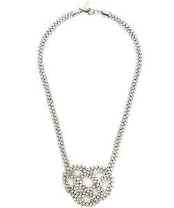 Michael Schmidt | Swarovski Crystal Knot Necklace