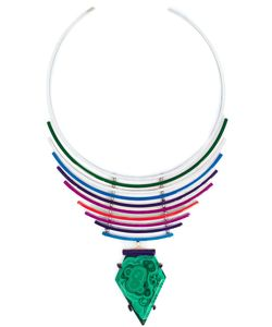 Gemma Redux | Malachite Pendant Necklace