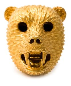 Simon Harrison | Dionysus Bear Ring