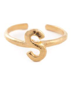 Bjorg | S Alphabet Ring