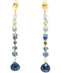 Natasha Collis | Sapphire And 18kt Drop Earrings