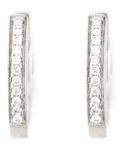 Wouters & Hendrix Gold | Diamond Hoop Earrings