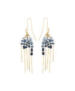 Natasha Collis | Rod Sapphire Earrings