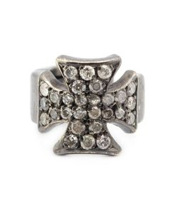 Loree Rodkin | Maltese Diamond Cross Ear Cuff
