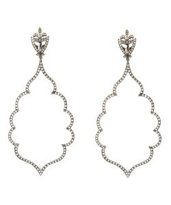 Loree Rodkin | Diamond Leaf Chandlier Earrings