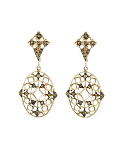 Loree Rodkin | Lace Diamond Drop Earrings