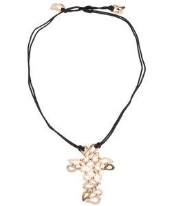 Gavello | Tear Drop Crucifix Necklace