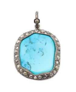 Loree Rodkin | Turquoise And Diamond Pendant