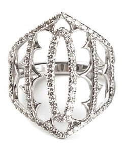 Loree Rodkin | And Diamond Pavé Shield Ring