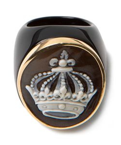 Amedeo | Crown Cameo Ring