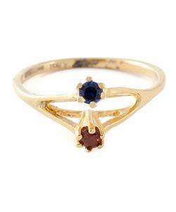 Puro Iosselliani | Saphire And Garnet Ring