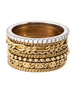 Wouters & Hendrix Gold | Set Of 8 Stacking Rings